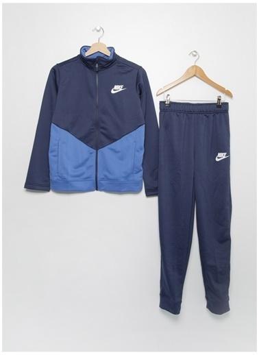 Nike Nike Erkek Çocuk Mavi Eşofman Takımı Mavi
